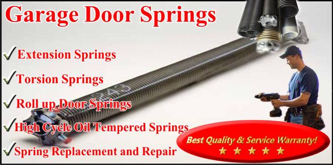 1 Stop Garage Doors Spring Replacements Repair
